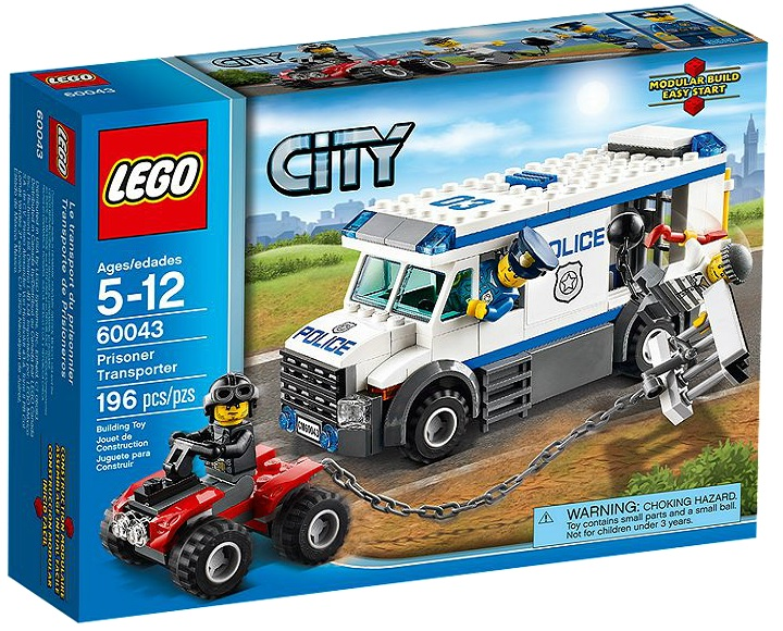 60043 LEGO City Police Prisoner - Toysnbricks
