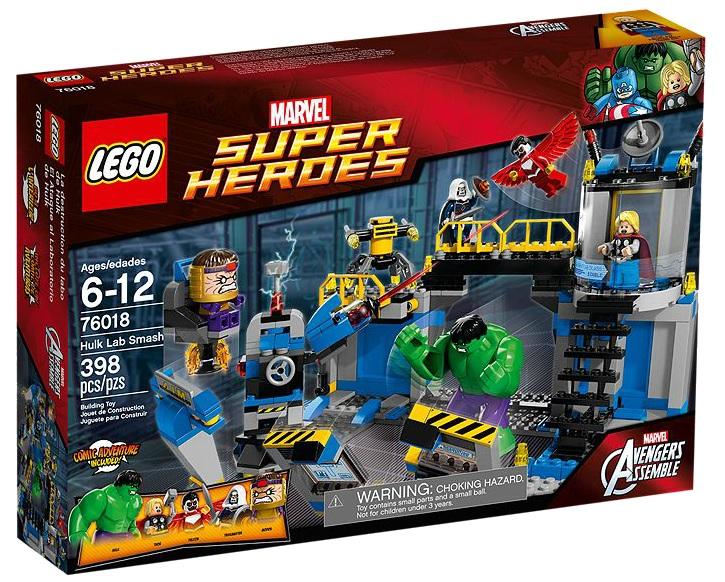 76018 LEGO Super Heroes Hulk Lab Smash - Toysnbricks