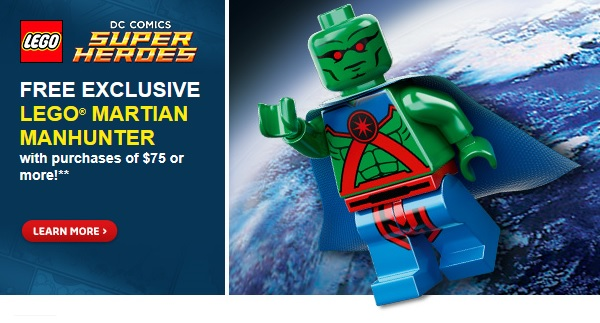 LEGO Martian Manhunter Minifigure Promotion 2014