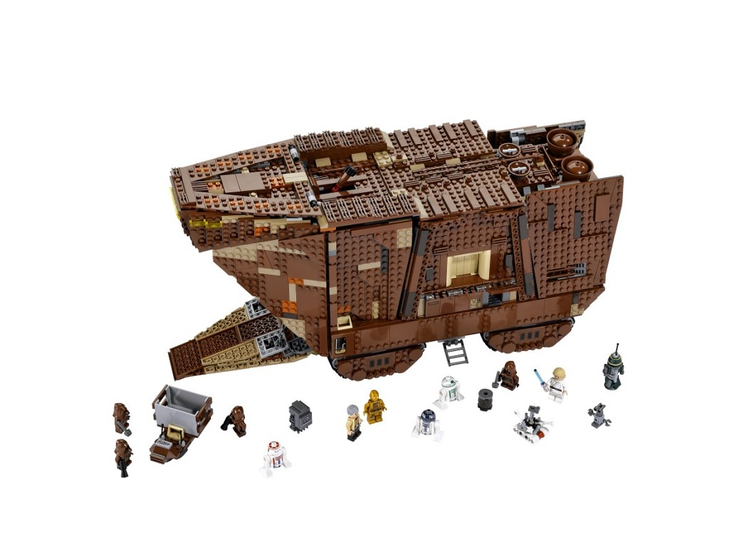 LEGO Star Wars 75059 Sandcrawler High Resolution 2 - Toysnbricks
