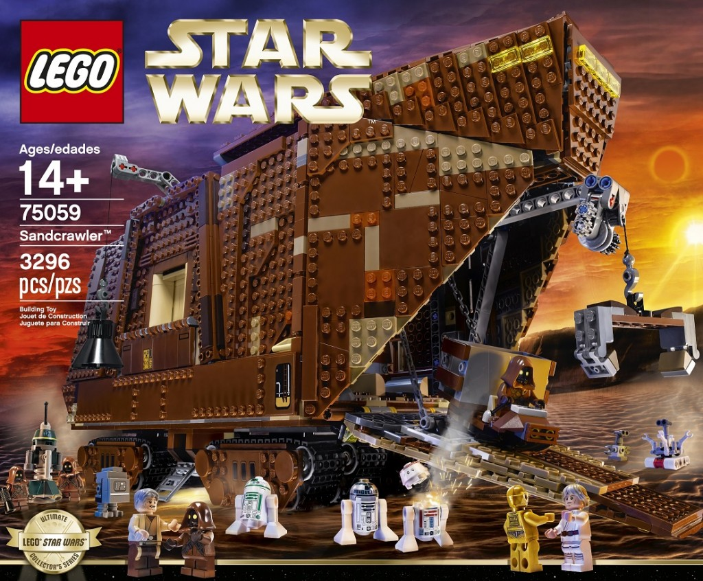 LEGO Star Wars 75059 Sandcrawler High Resolution - Toysnbricks