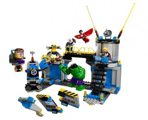 LEGO Super Heroes Hulk Lab Smash 76018 - Toysnbricks