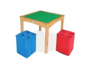 LEGO Table with Ottomans