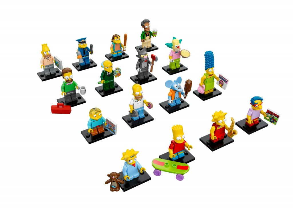 LEGO The Simpsons Minifigures Series