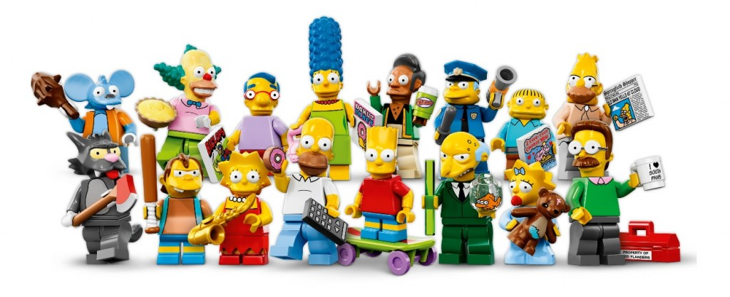 71005 The Simpsons LEGO Minifigures Series 13 (May 2014)