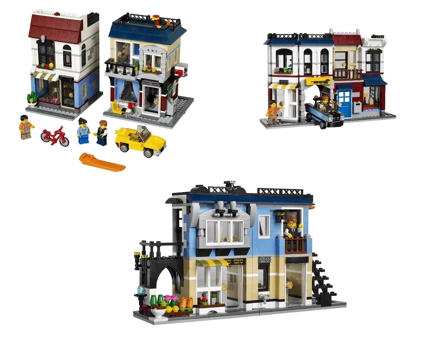 Lego City Bike Shop And Cafe