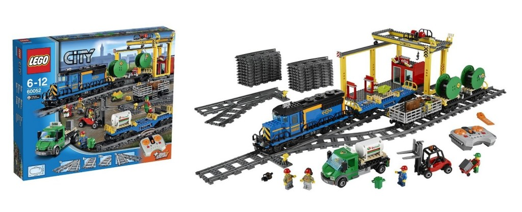 60052 LEGO City Cargo Train - Toysnbricks