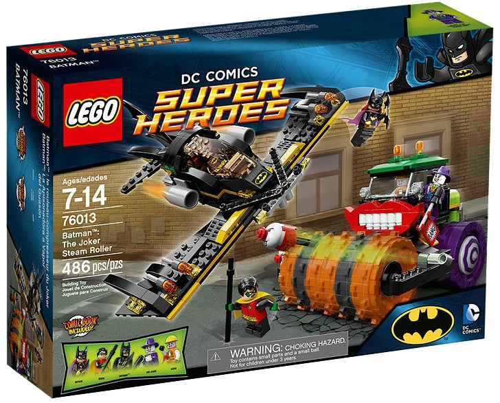 76013 LEGO Super Heroes Batman The Joker Steam Roller - Toysnbricks