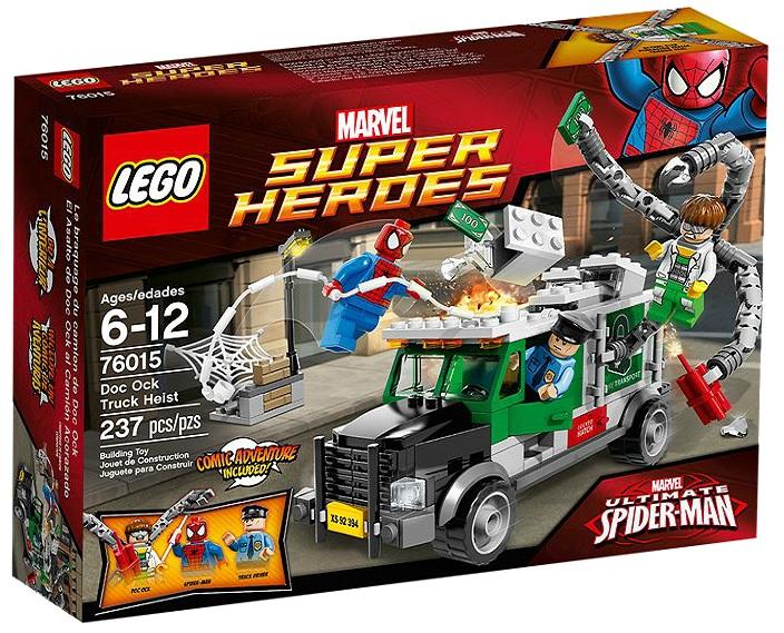 76015 LEGO Super Heroes Marvel Doc Ock Truck Heist - Toysnbricks