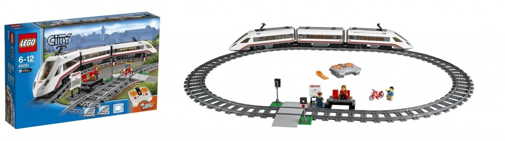 LEGO 60051 City High-Speed Passenger Train - Toysnbricks
