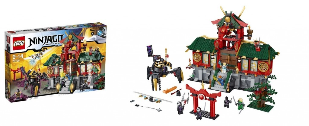 LEGO 70728 Battle for Ninjago City - Toysnbricks