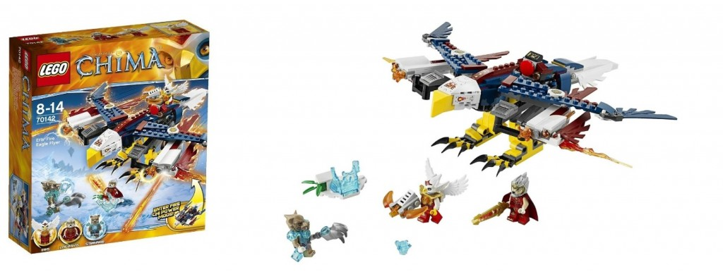 LEGO Chima 70142 Eris' Fire Eagle Flyer - Toysnbricks