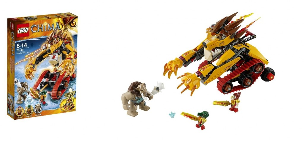 LEGO Chima 70144 Laval's Fire Lion - Toysnbricks