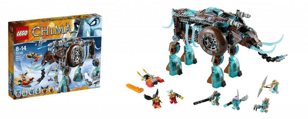 LEGO Chima 70145 Maula's Ice Mammoth Stomper - Toysnbricks