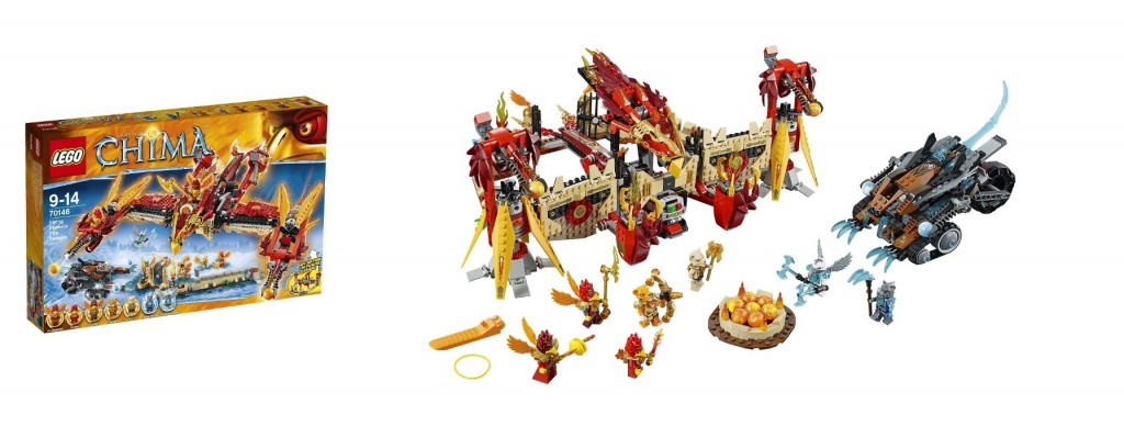 LEGO Chima 70146 Flying Phoenix Fire Temple - Toysnbricks
