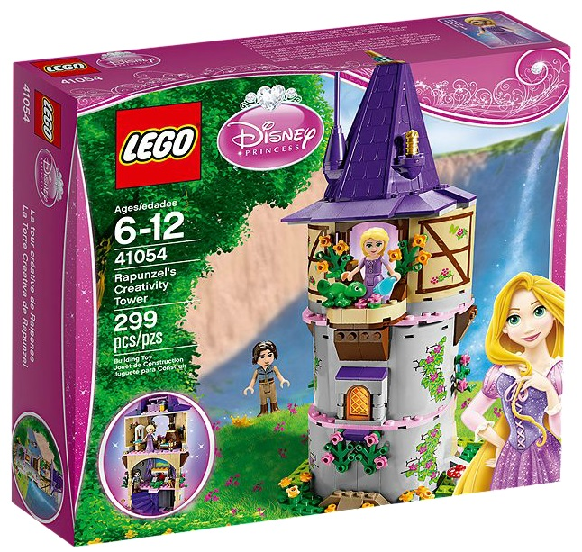 LEGO Disney Princess 41054 Rapunzel's Creativity Tower - Toysnbricks