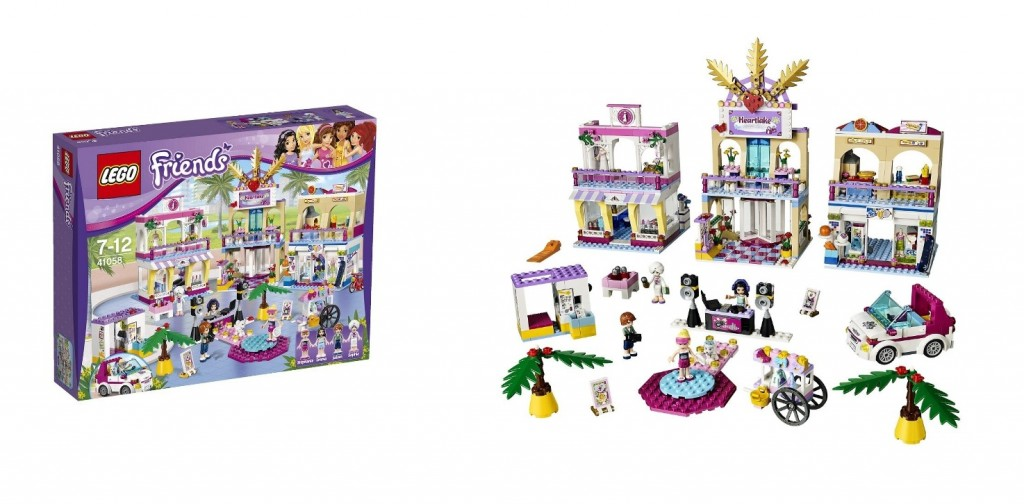LEGO Friends 41058 Heartlake Shopping Mall - Toysnbricks