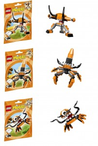 LEGO Mixels 41515 41516 41517 Kraw Tentro Balk - Toysnbricks