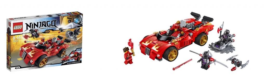 LEGO Ninjago 70727 X-1 Ninja Charger - Toysnbricks