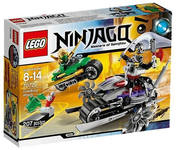 LEGO Ninjago OverBorg Attack 70722 - Toysnbricks