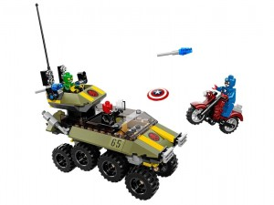 LEGO Super Heroes 76017 Captain America vs. Hydra - Toysnbricks