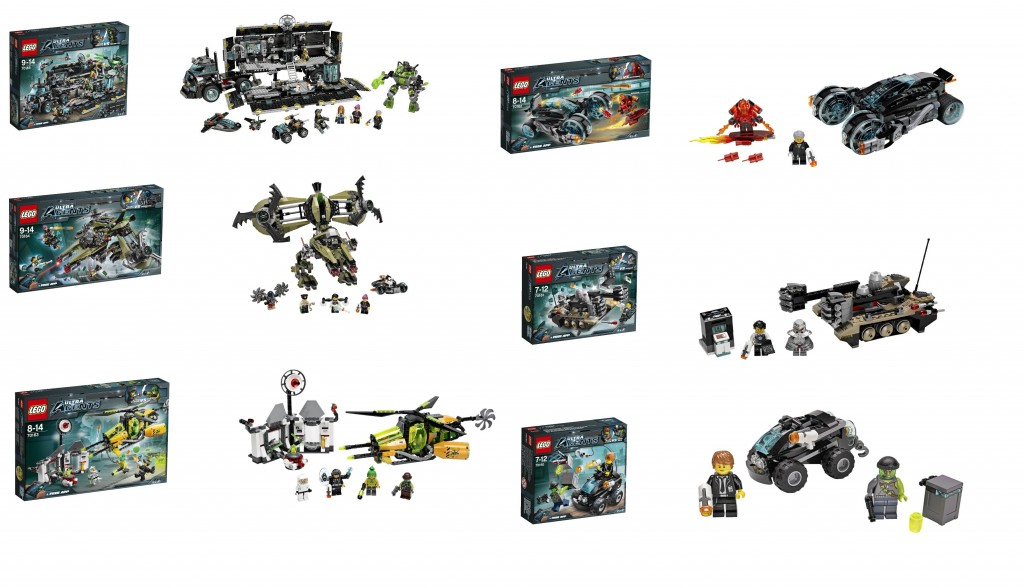 LEGO Ultra Agents 76015 76014 76013 76012 76011 76010 Summer 2014 Sets - Toysnbricks
