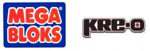 Mega Bloks and KRE-O Logo