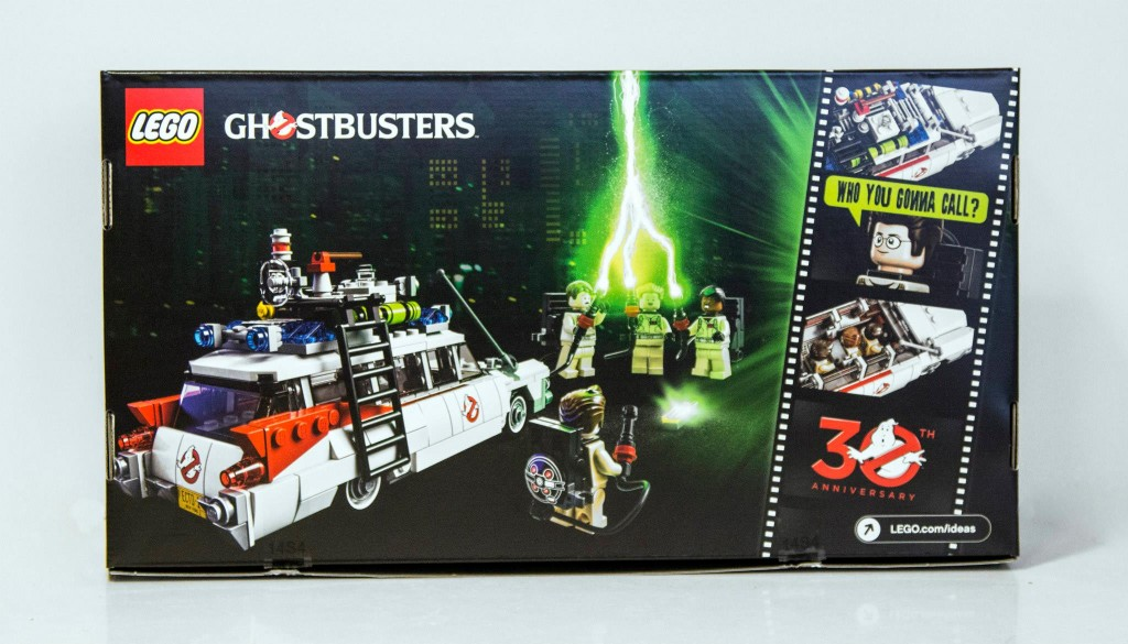 21108 Official LEGO Ideas Cuusoo Ghostbusters Box Back