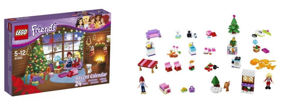 41040 LEGO Friends 2014 Advent Calendar - Toysnbricks