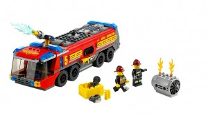 60061 LEGO City Airport Fire Truck - Toysnbricks