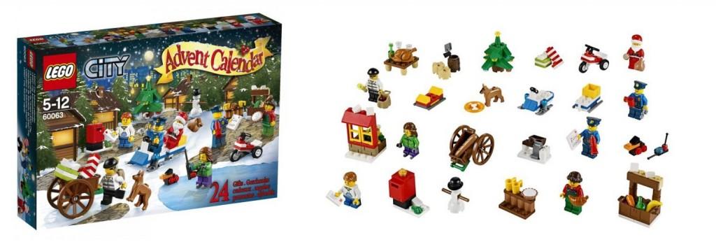 60063 LEGO City 2014 Advent Calendar - Toysnbricks