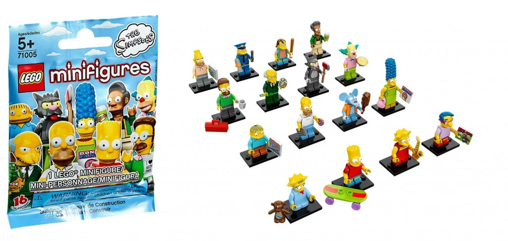 71005 LEGO Minifigures The Simpsons Series - Toysnbricks