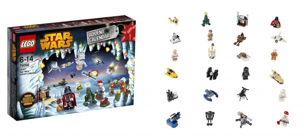 75056 LEGO Star Wars 2014 Advent Calendar - Toysnbricks