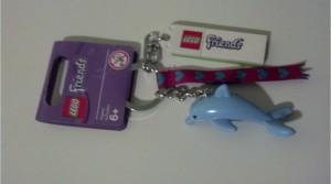 851324 LEGO Friends Dolphin Keychain