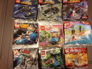 LEGO Polybags 30300 30301 30302 30247 30116 30114 30281 30231 30080 (June 2014 Contest)