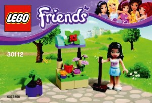 LEGO 30112 Friends Flower Stand Polybag - Toysnbricks