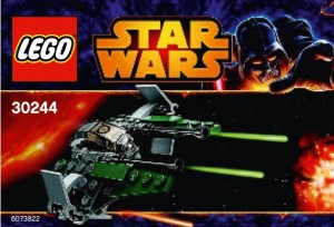 LEGO 30244 Star Wars Anakin's Jedi Interceptor Mini Polybag - Toysnbricks