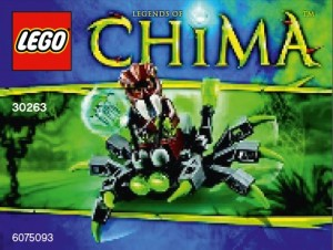 LEGO 30263 Chima Spider Crawler Polybag - Toysnbricks