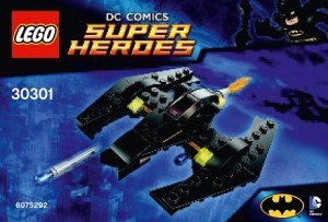 LEGO 30301 Super Heroes Mini Batwing Polybag - Toysnbricks