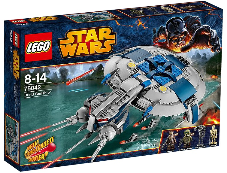 LEGO 75042 Star Wars Droid Gunship - Toysnbricks