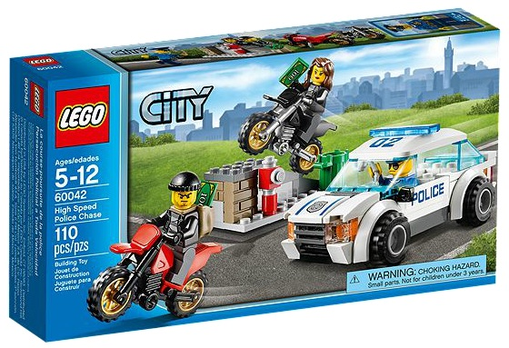 LEGO City High Speed Police Chase 60042 - Toysnbricks