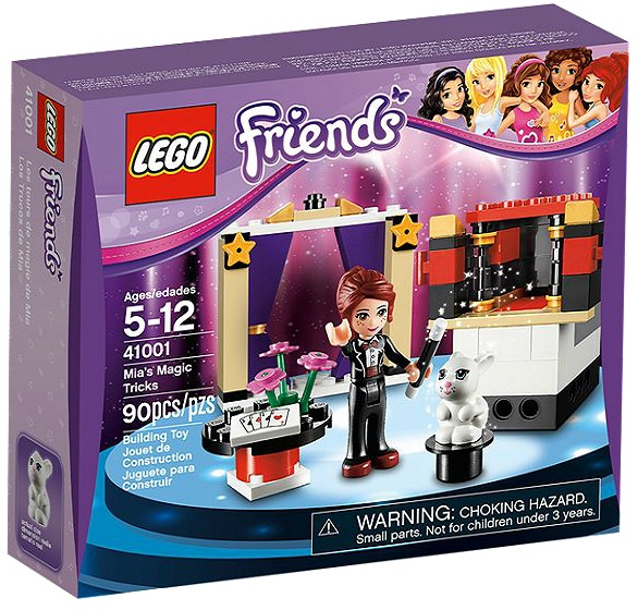 LEGO Friends 41001 Mia's Magic Tricks - Toysnbricks