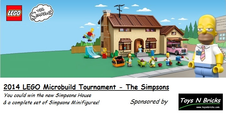 LEGO Microbuild Tournament 2014 Simpsons - Toysnbricks
