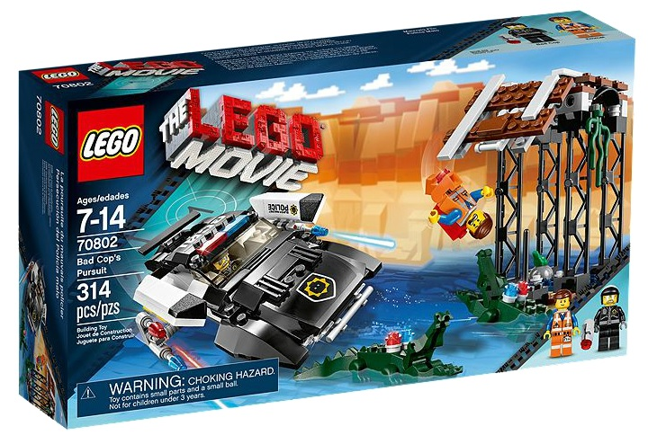 LEGO Movie 70802 Bad Cop's Pursuit - Toysnbricks