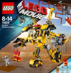 LEGO Movie 70814 LEGO Emmet's Construct-o-Mech - Toysnbricks