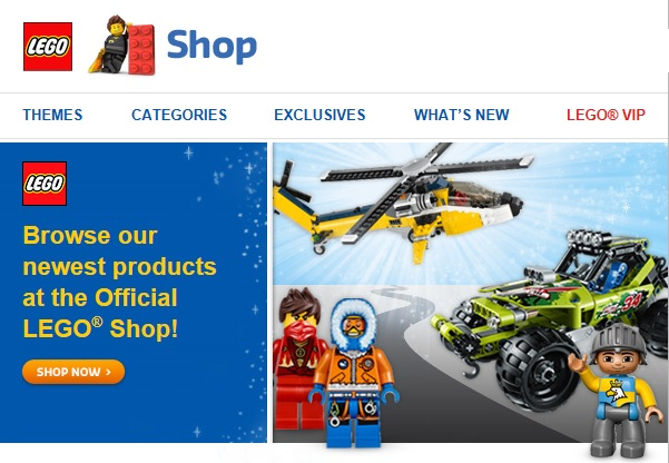 LEGO Shop May 2014 New Summer Sets