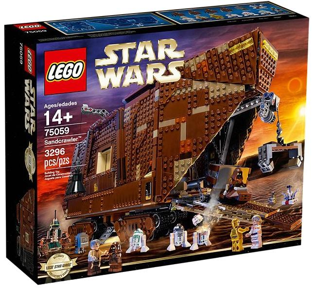 LEGO Star Wars Sandcrawler UCS 75059 - Toysnbricks