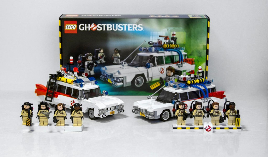 Official LEGO Ideas Cuusoo 21108 Ghostbusters Set