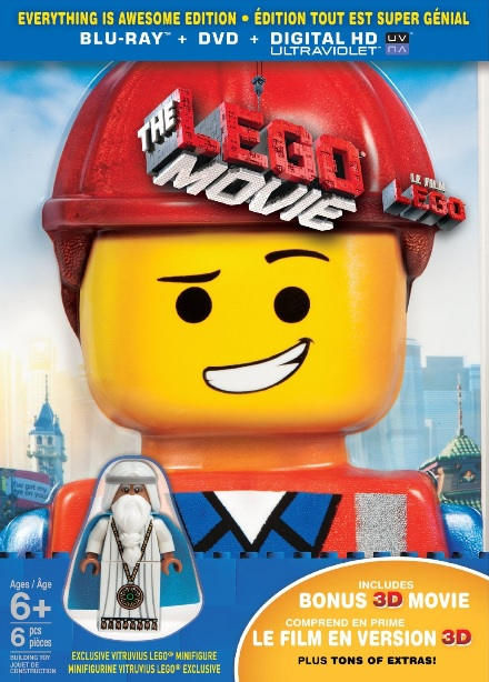 2014 The LEGO Movie Everything is Awesome DVD Blu-Ray - Toysnbricks