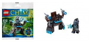 30262 LEGO Legends of Chima Gorzan's Walker Polybag - Toysnbricks